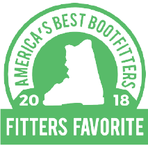FITTERS FAVORITE - AMERICA BEST BOOTFITTERS