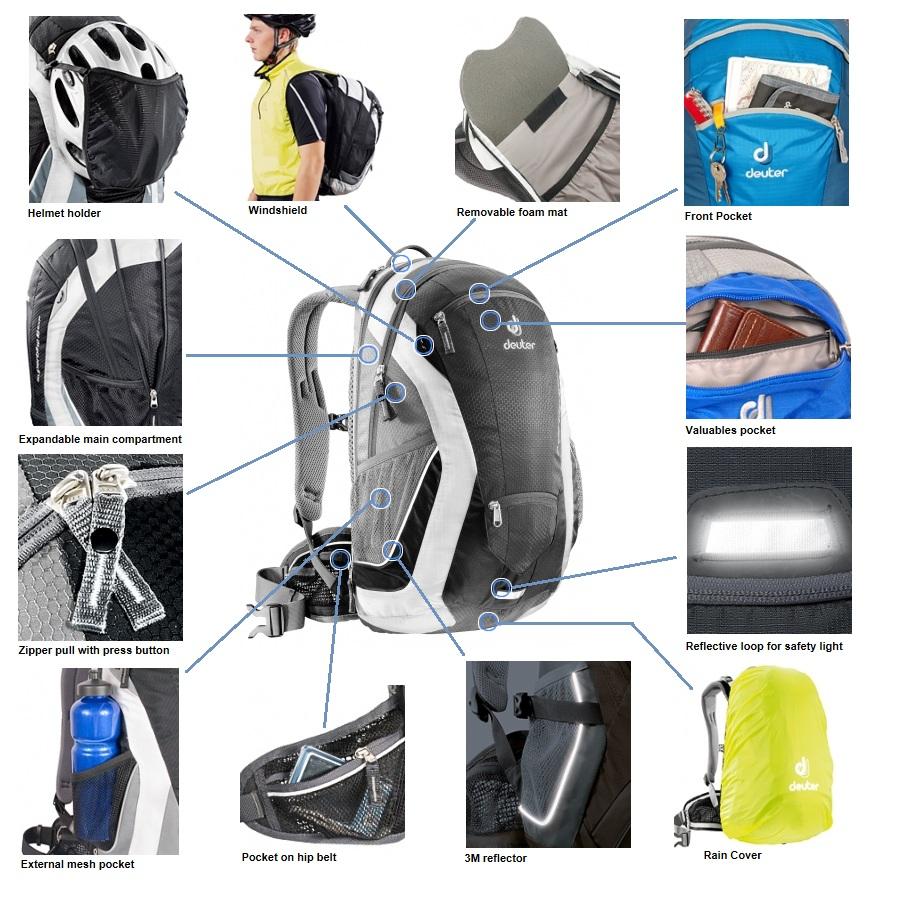 Рюкзак deuter superbike 14 exp sl tomy рюкзак-переноска для детей купить